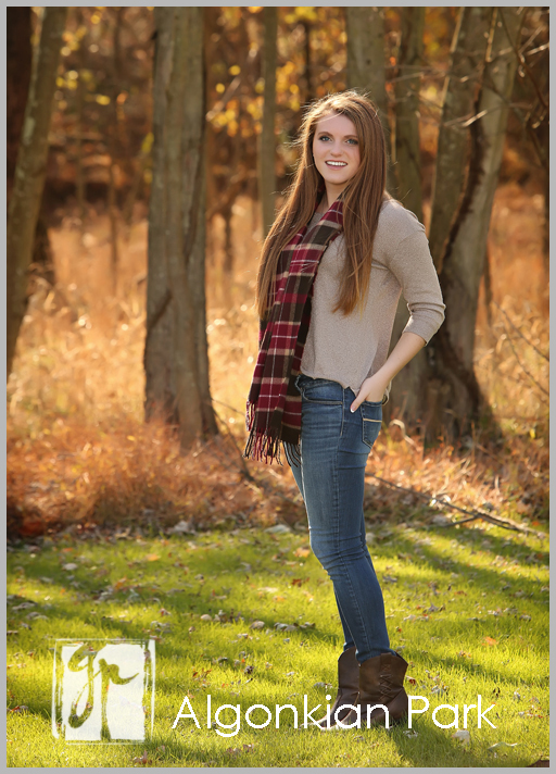 Loudoun County Senior Pictures at Algonkian Park
