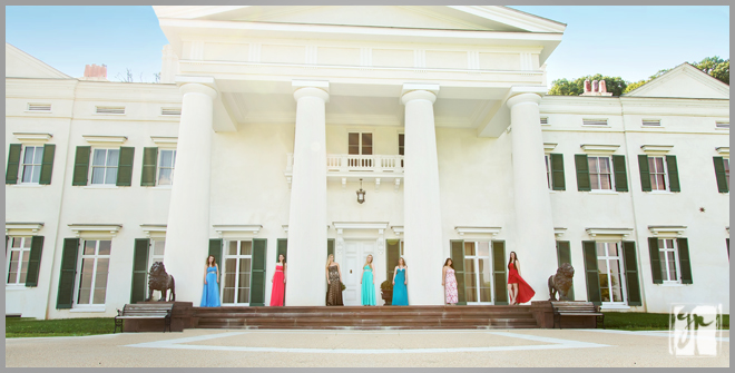 Morven Park Mansion and High School Senior Pictures