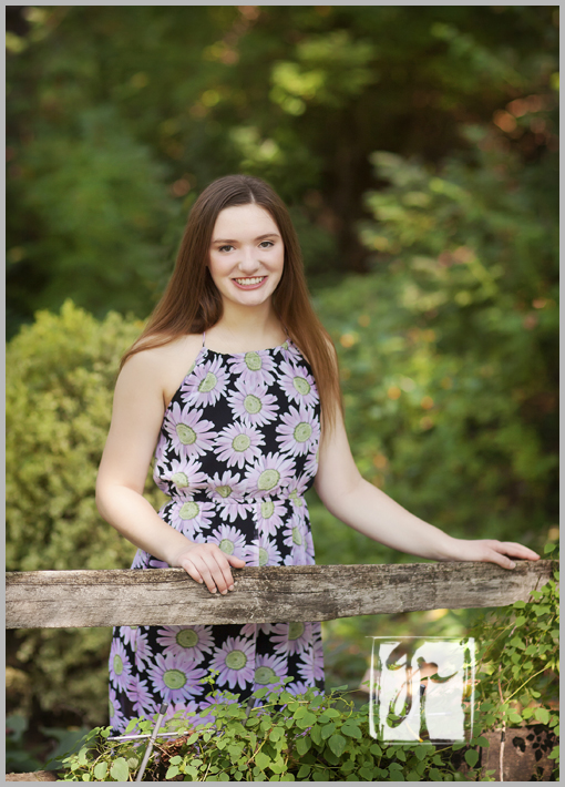 gorgeous dominion high school senior