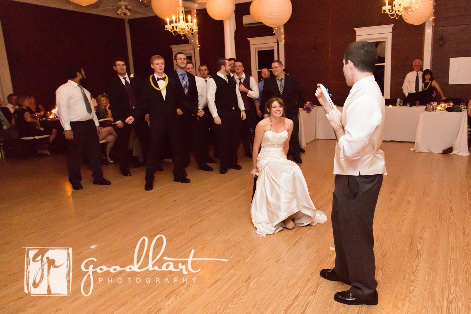 garter toss rosemont manor