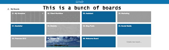 Trello Boards