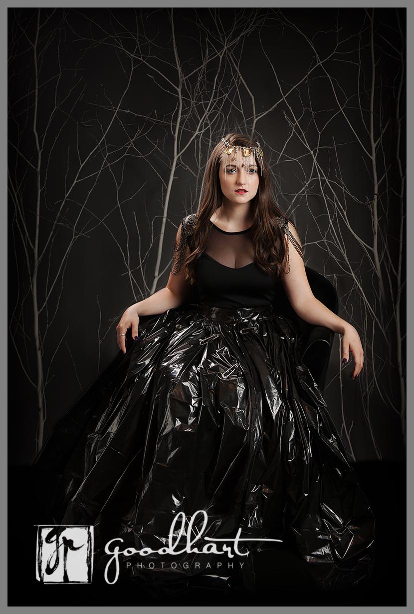 Trash Bag Dress Queen