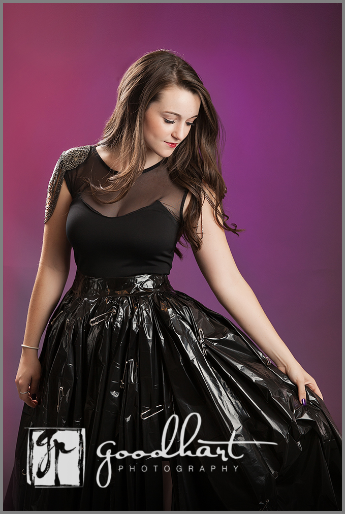 Use The Trash Bag Method To Keep Your Dress Clean En Route