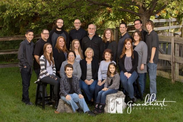 Extended Family Reunion Photographer