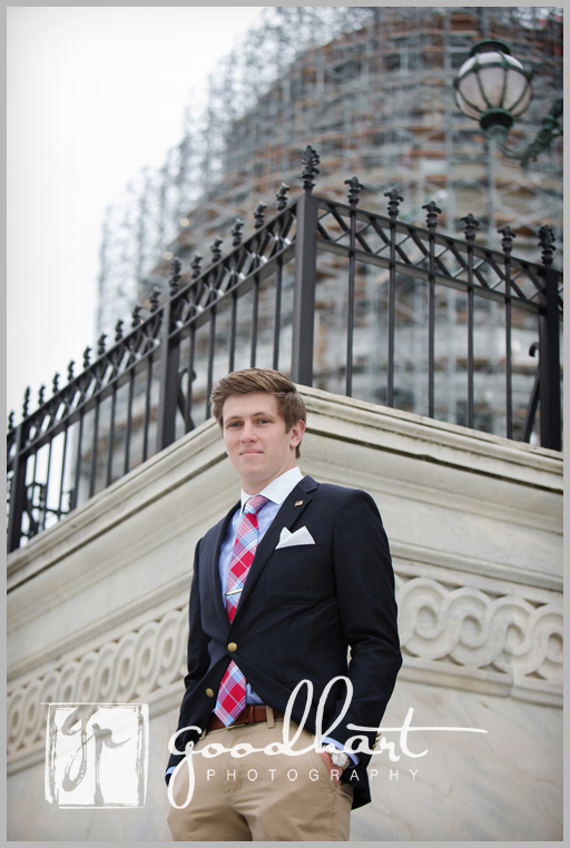 Senior Pictures at the Capitol