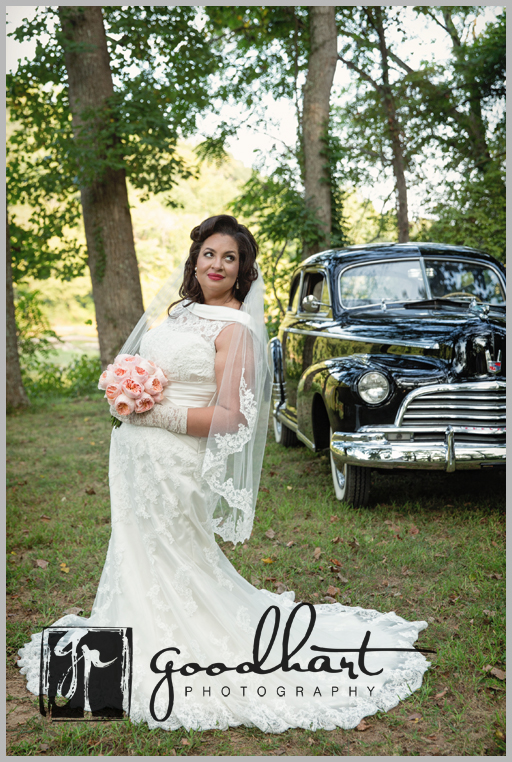 Vintage Limo for wedding