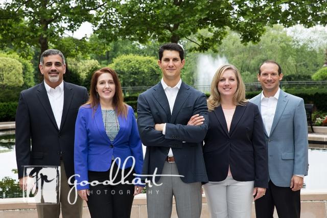 Group corporate headshot