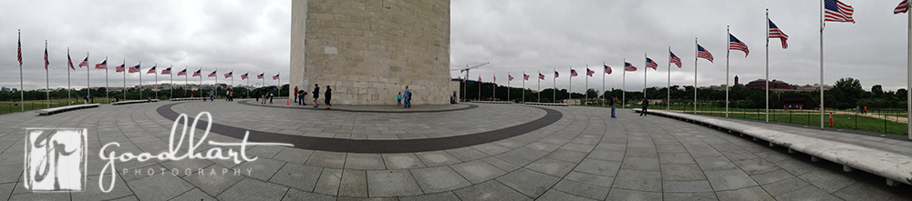 Panoramic Washington Monument