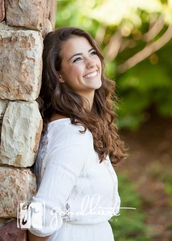 laughing senior girl Washington DC