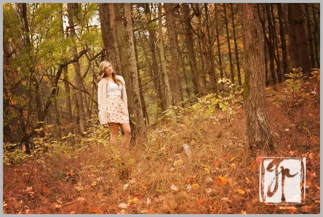 Holly Jay walking in woods Leesburg VA