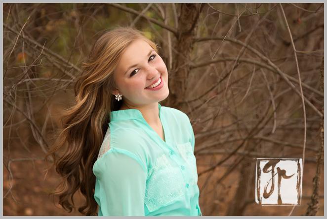 beautiful girl with mint green shirt