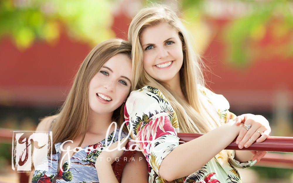 best friend senior portraits
