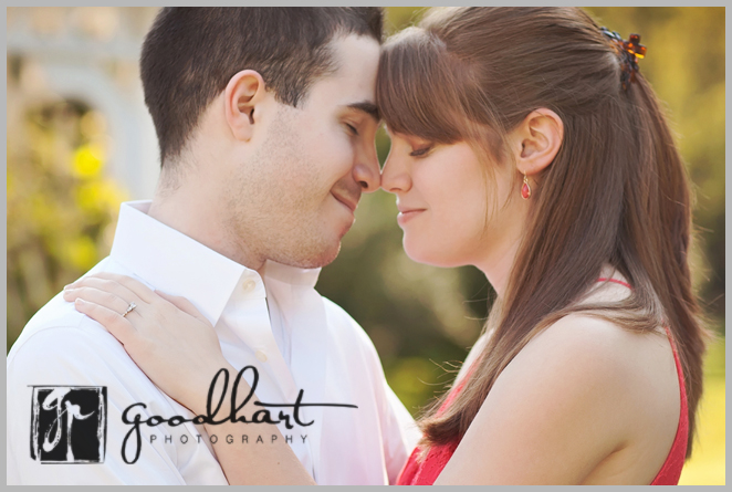 Young love engagement pictures