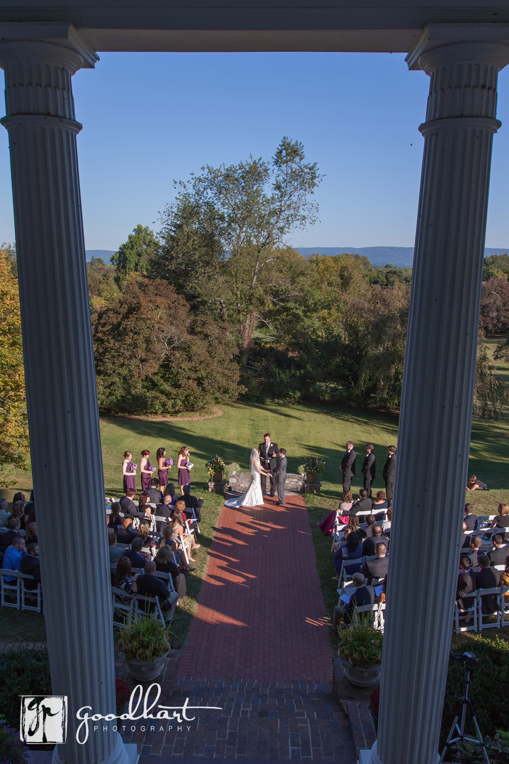 Ceremony at Rosemont Manor