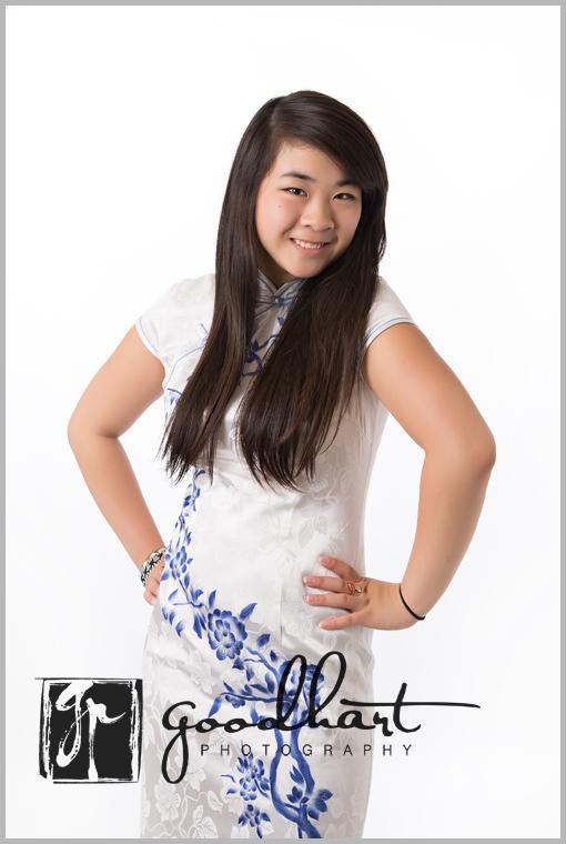 Gorgeous Asian High School Senior web