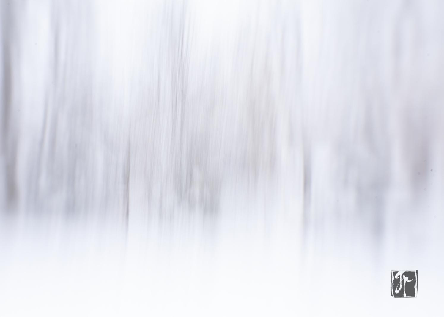 Impressionistic Snowy Day